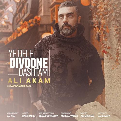 دانلود موزیک جدید علی اکام یه دلِ دیوونه داشتم