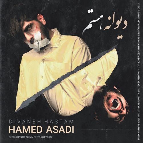 دانلود موزیک جدید حامد اسدی دیوانه هستم