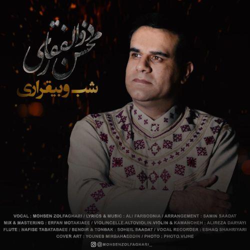 دانلود موزیک جدید محسن ذوالفقاری شب و بیقراری